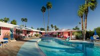 Ruby Montana's 1950s Modern motel, The Coral Sands; Palm Springs, California