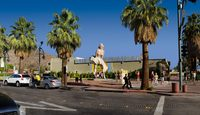 """Forever Marilyn"" by Seward Johnson; Palm Springs, California"