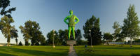 Jolly Green Giant; Blue Earth, Minnesota